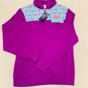 NWT Simply Southern Pullover Regatta Plum Size S